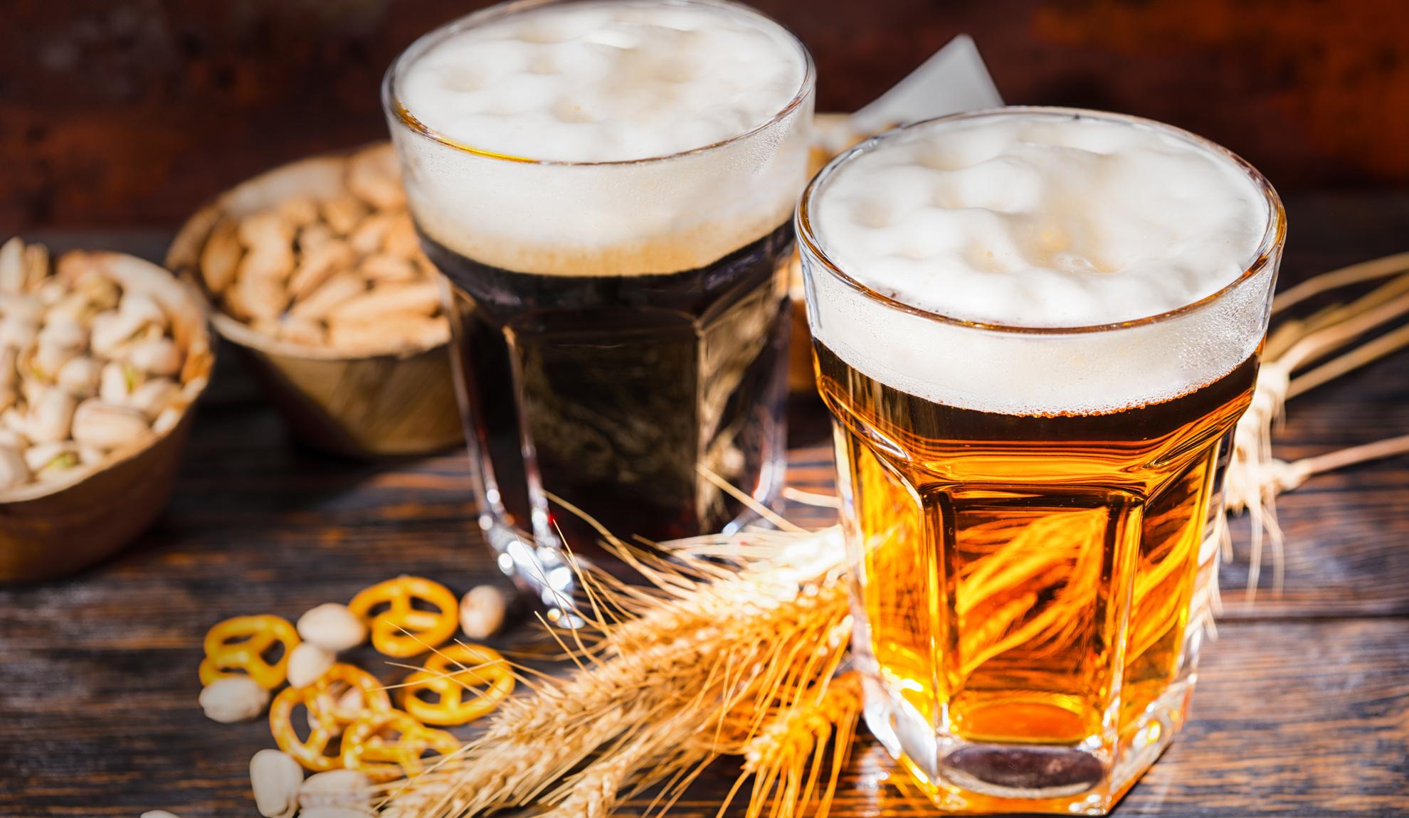 Biergarten Getränkekarte