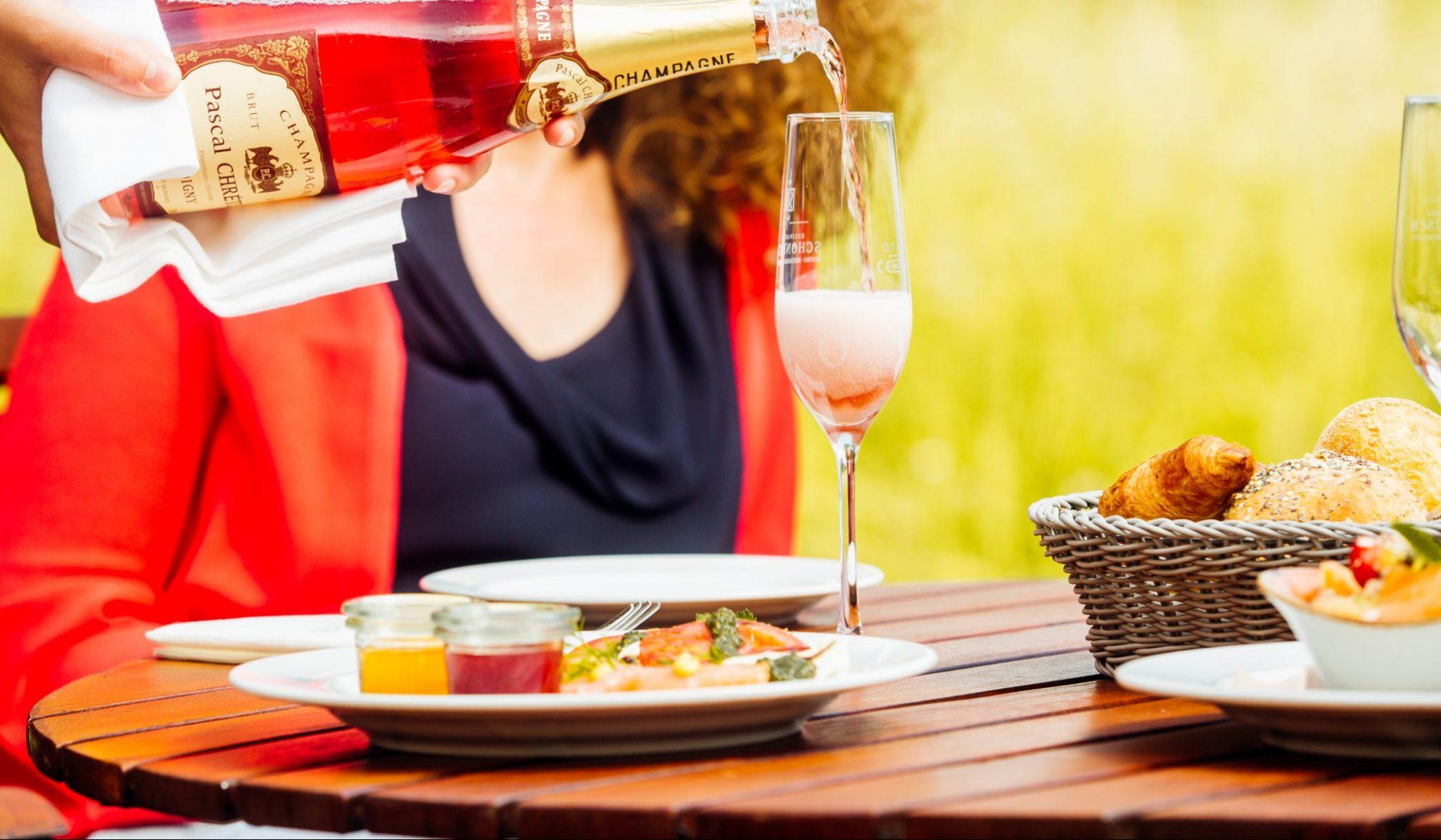 Restaurant und Bistro Frühstückskarte